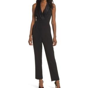 NWOT Eliza J tuxedo jumpsuit Black 2 Nordstrom